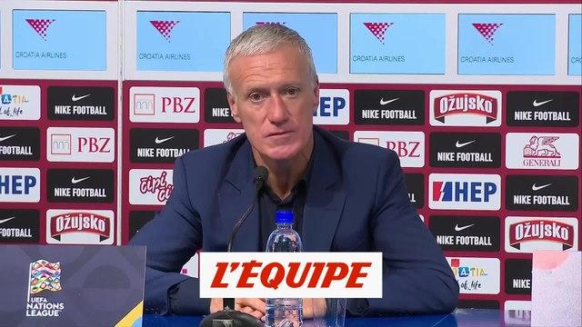 Deschamps : «Pogba fait partie des cadres de cette équipe» - Foot - L. nations - Bleus