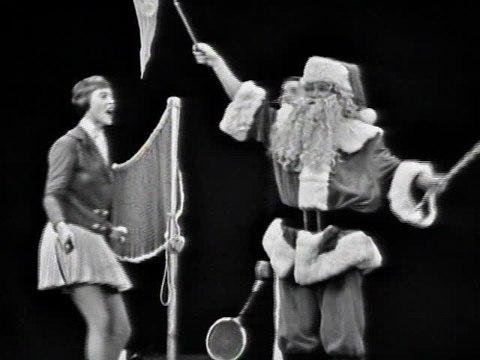 Hugh Forgie - Santa Badminton