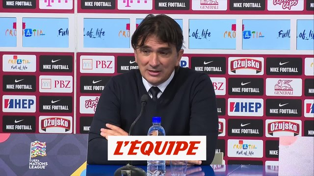 Dalic : «On les a presque eus ! » - Foot - L. nations - CRO