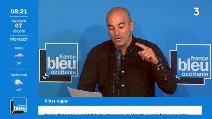 """C'EST RUGBY - Romain Amalric sur France 2023 : """"on l'a dans le baba !"""""""