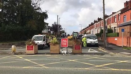 Pop-up road closures in Preston are removed