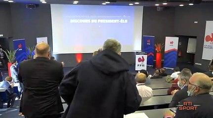 Rugby : Bernard Laporte réélu à la tête de la ffr