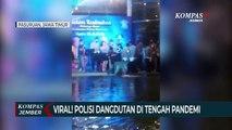 Viral Video Polisi Dangdutan di Tengah Pandemi Covid-19