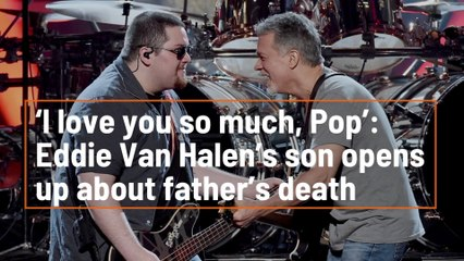 Eddie Van Halen's Son