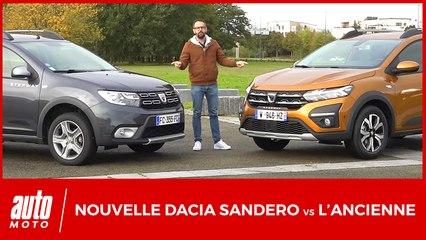 La nouvelle Dacia Sandero face à l'ancien modèle : quels changements ?