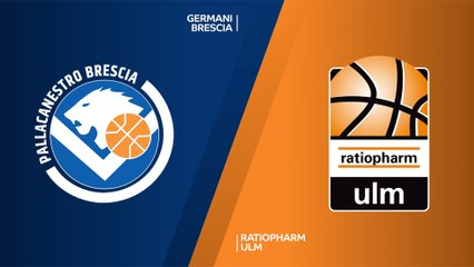 7Days EuroCup Highlights Regular Season, Round 2: Brescia 87-84 Ulm