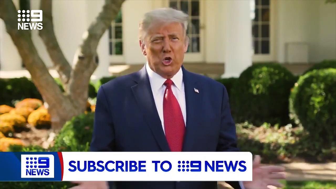Donald Trump claims Regeneron could cure COVID-19 – 9 News Australia