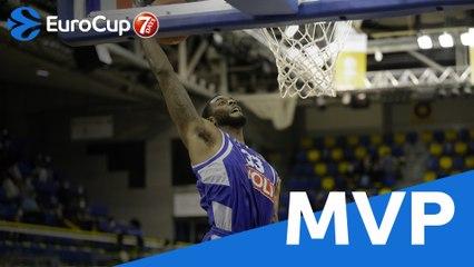 Round 2 MVP: Willie Reed, Buducnost VOLI Podgorica