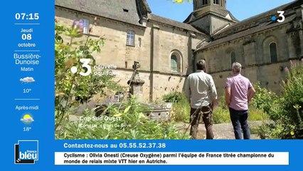 La matinale de France Bleu Creuse du 08/10/2020