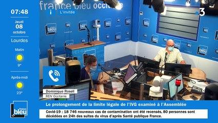 La matinale de France Bleu Occitanie du 08/10/2020