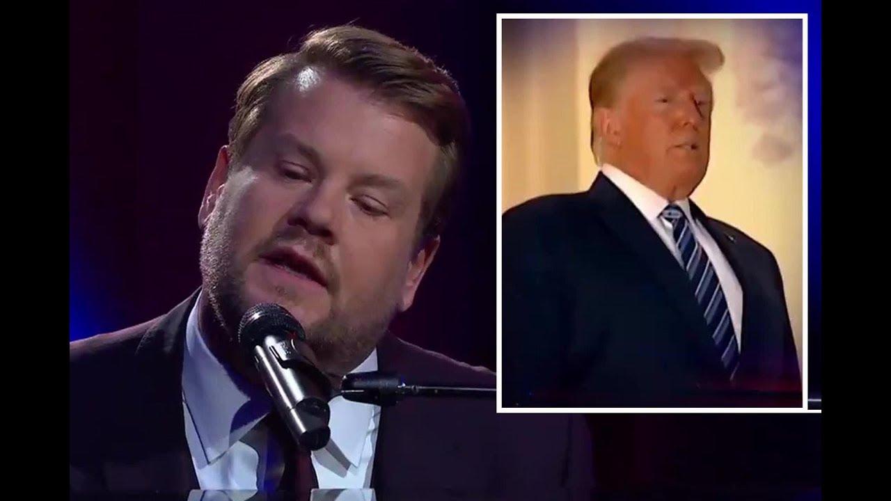 James Corden attacks Trump's coronavirus response with musical parody – News Today