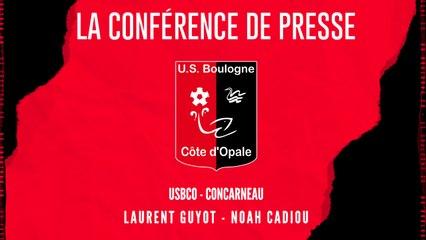 [NATIONAL] J9 Conférence de presse avant match USBCO - Concarneau