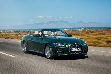 سيارة BMW الفئة الرابعة المكشوفة الجديدة كليًا
