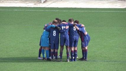 U17 Nationaux (J2) : Les buts (N.Tlemcani X2 et M.Agnoly) du match SMCaen 3-0 Havre AC