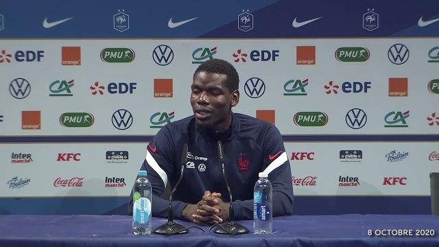 "Equipe de France : ""Camavinga, on ne lui parle pas d'âge"" sourit Pogba"
