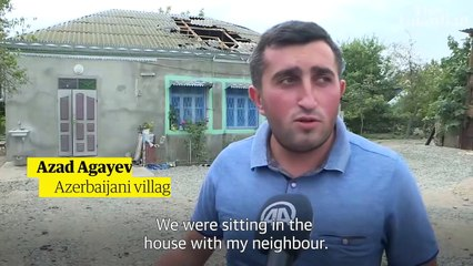 Armenia and Azerbaijan clash over disputed Nagorno-Karabakh region – video report