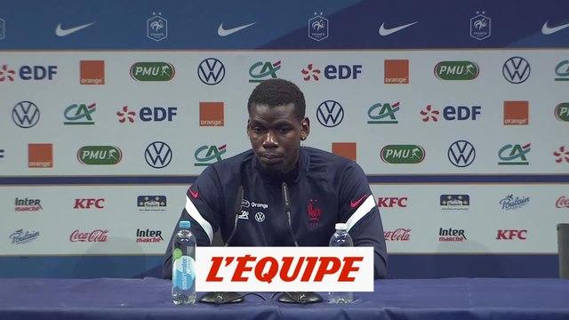Pogba : «Je suis juste un homme heureux» - Foot - Bleus