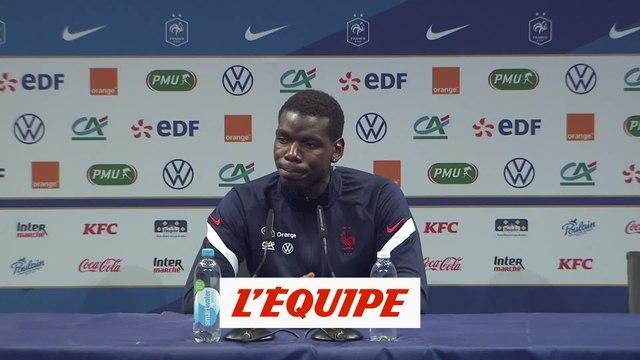 Pogba : «On veut tout gagner» - Foot - Bleus