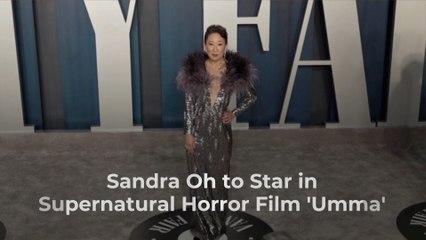 Sandra Oh Joins 'Umma'