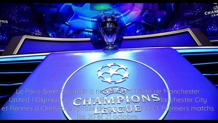 Ligue des champions: du lourd au tirage pour le PSG, l'OM et le stade rennais