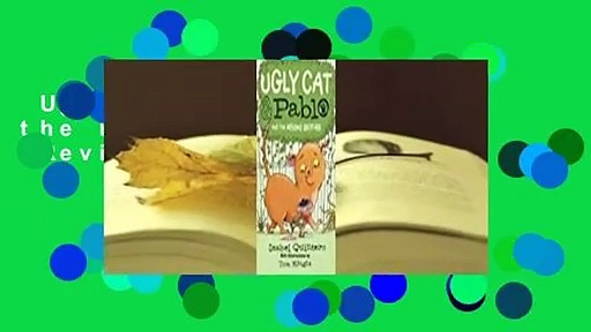 Ugly Cat Pablo And The Missing Brother Review Video Dailymotion