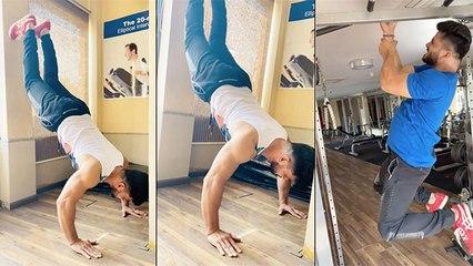 बिग बॉस मराठी २ विजेता शिव ठाकरे सोबत Workout सेशन