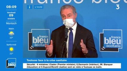 Le maire de Toulouse Jean-Luc Moudenc reçoit 4 ministres sur le thème de la sécurité