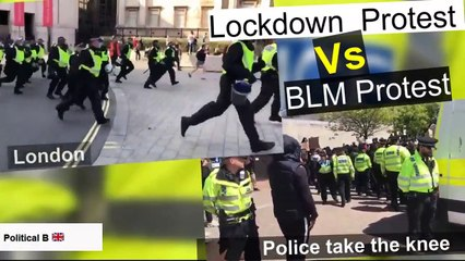 UK Law Enforcement Take the side of BLM over you