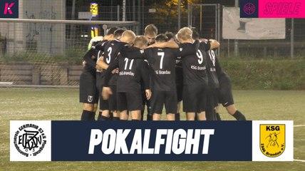 Torreicher Pokalfight in Pfungstadt | RSV Germania Pfungstadt - KSG Brandau (1. Runde, Kreispokal)