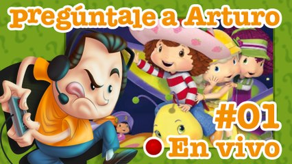 Strawberry Shortcake: The Sweet Dreams Game #01 | Pregúntale a Arturo en Vivo (08/10/2020)