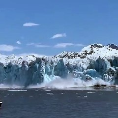 Un glacier en Alaska
