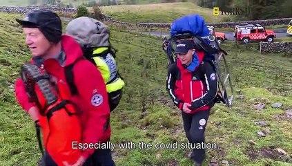 Upper Wharfdale Fell Rescue Training