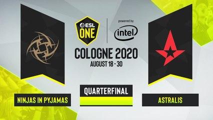 CSGO - Astralis vs. Ninjas in Pyjamas [Inferno] Map 2 - ESL One Cologne 2020 - Quarterfinal - EU