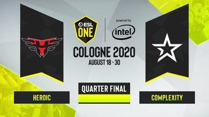 CSGO - Complexity vs. Heroic [Nuke] Map 2 - ESL One Cologne 2020 - Quarterfinal - EU