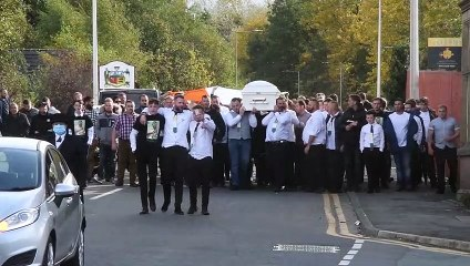 Hundreds attend funeral procession of Paddy Connors