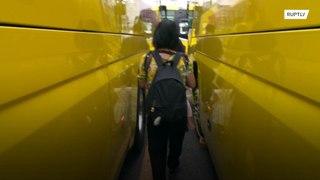 اليابان: متاهة من حافلات النقل العام  !!!
