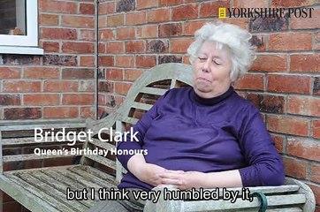 Bridget Clark  BEM Honour