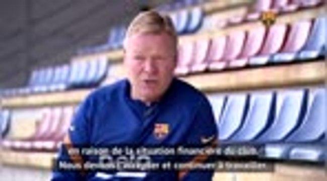 "Barça - Koeman : ""Aucun autre joueur comme Ansu Fati"""