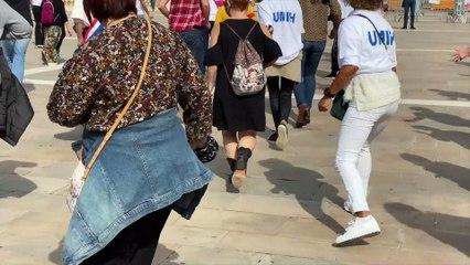 Challenge-danse avec la police à Toulon