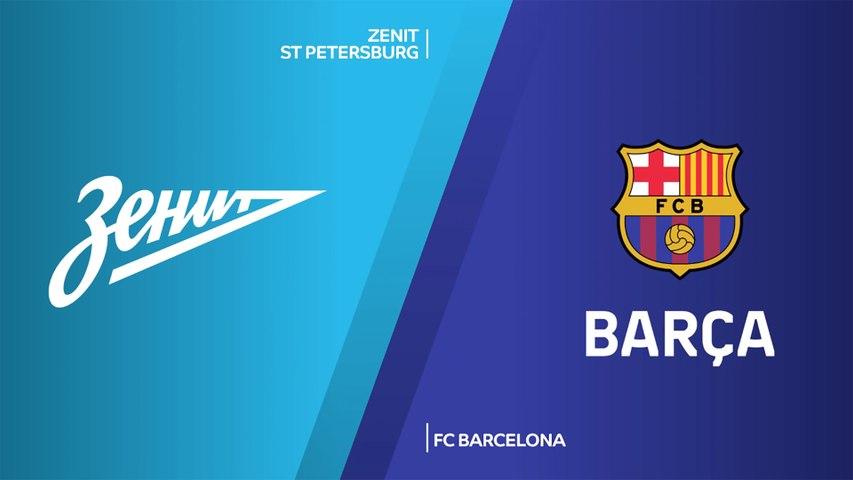Zenit St Petersburg - FC Barcelona Highlights | Turkish Airlines EuroLeague, RS Round 2