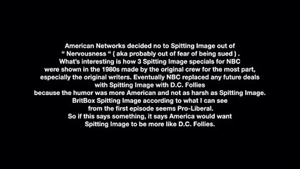 The BritBox Spitting Image Problem
