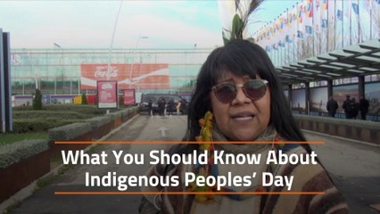 It is Indigenous Peoples' Day