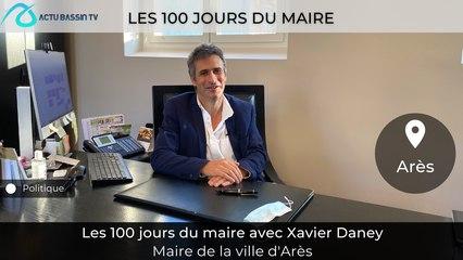 Les 100 jours du Maire Avec Xavier Daney Maire d'Arès