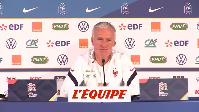Deschamps : «Une belle confrontation» - Foot - L. des nations
