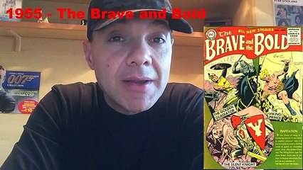 The Brave and bold - Agosto 1955