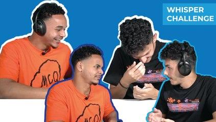 Whisper challenge  (Ayman & Omar)