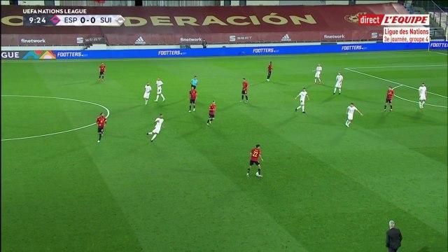 Espagne - Suisse - Foot - Replay