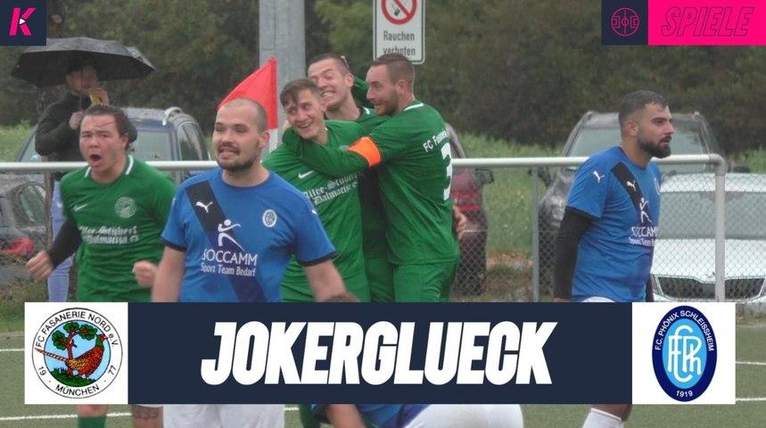 Glückliches Händchen im Spitzenspiel | FC Fasanerie Nord - FC Phönix Schleissheim (Kreisklasse 2)