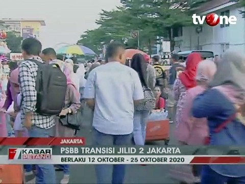 DKI Jakarta Berlakukan PSBB Transisi Jilid 2
