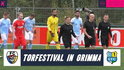 Torfestival in Grimma | FC Grimma – Chemnitzer FC (3. Runde, Sachsenpokal)